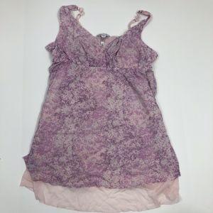 Jennifer Lopez Pink/Purple Flowy Chemise Size XXL